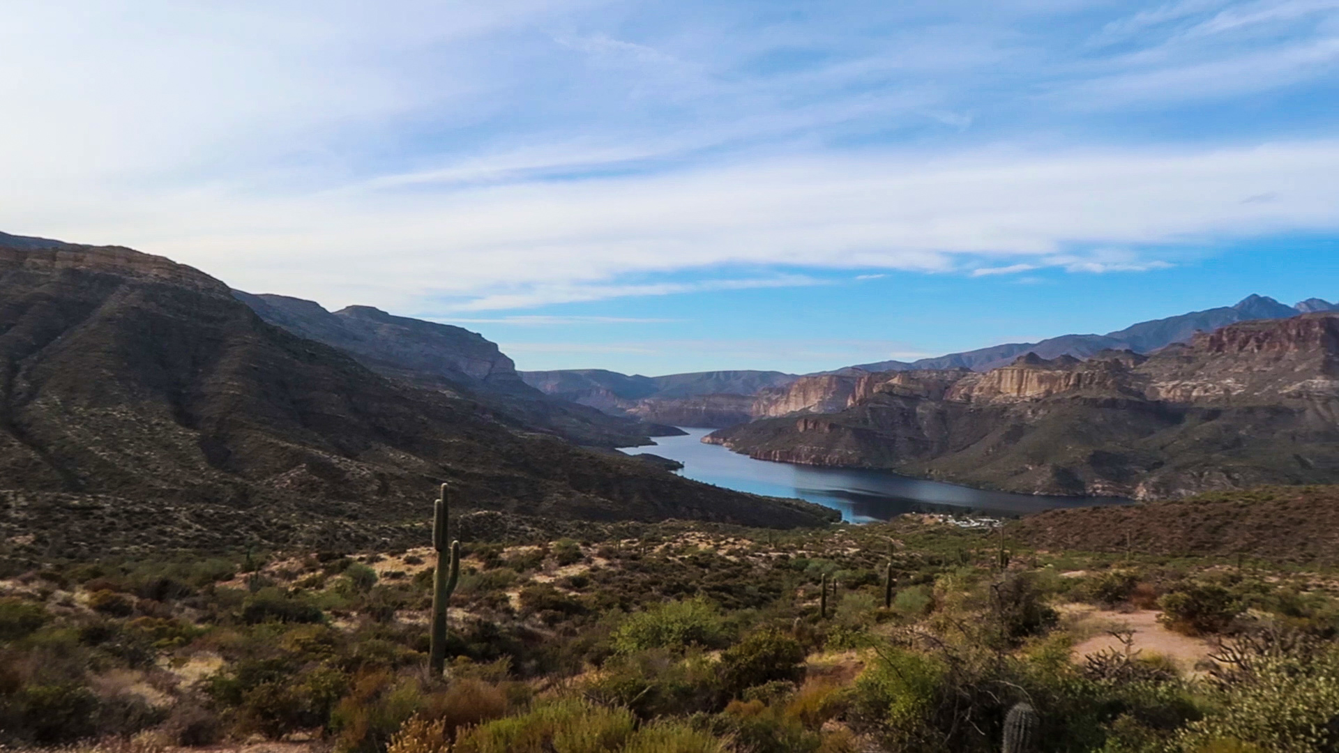 View on the Apache Trail