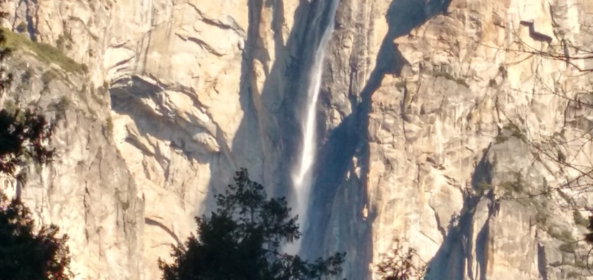 Yosemite with a toddler: Day 1, Bridalveil Falls, Mirror Lake, and setting up camp.