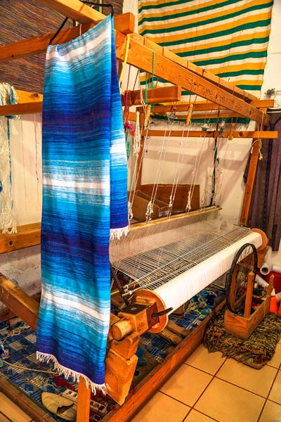 Morocco Weaving Loom
