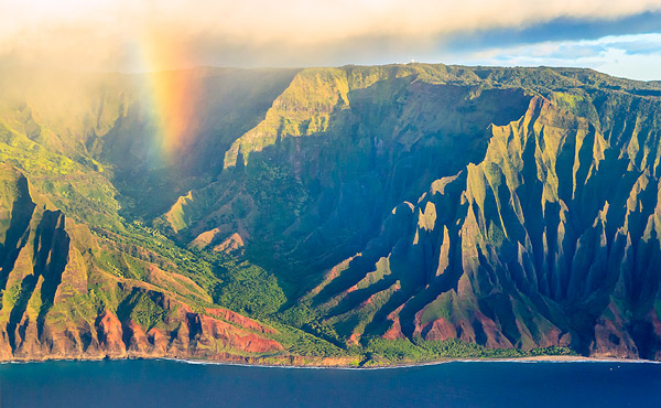 Rainbow Na Pali Coast