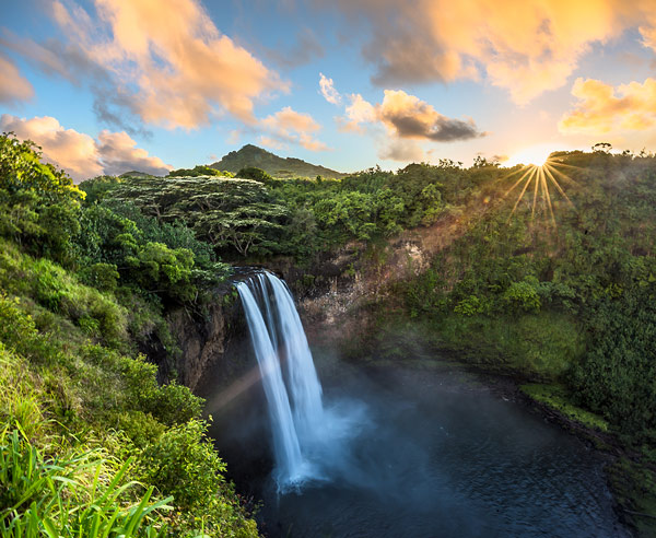 Wailua Falls Sunrise