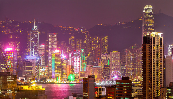 Hong Kong City Nights