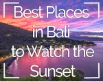 Best Places to Watch the Sunset in Bali, Indonesia