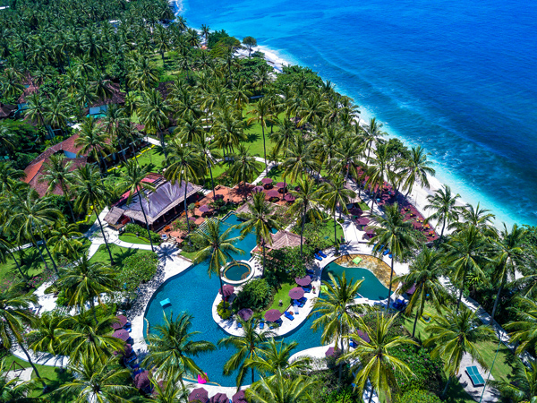 Holiday Resort Lombok Aerial