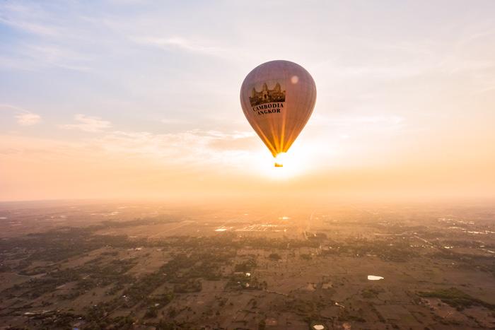 Angkor Wat Hot Air Balloon