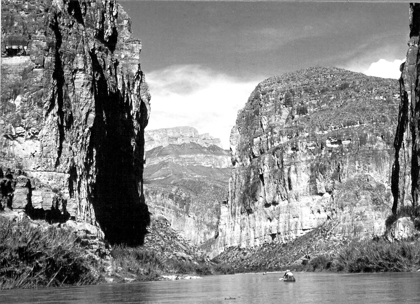 The entrance into Boquillas Canyon