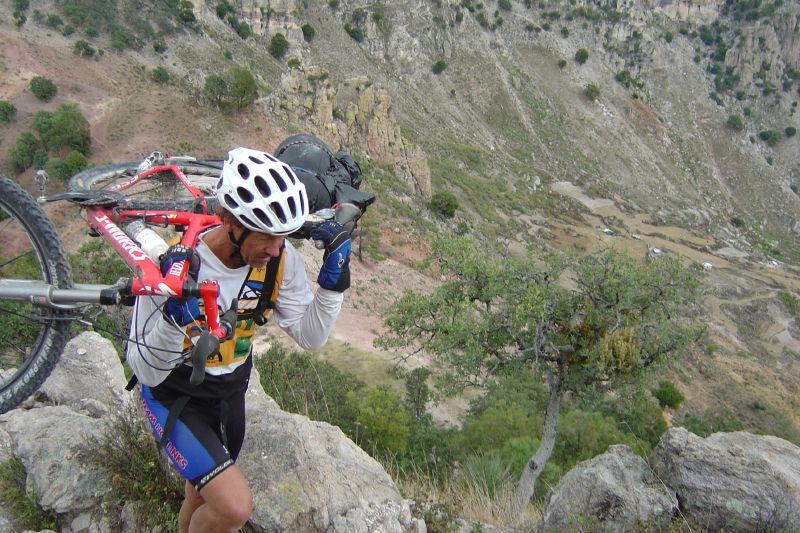 Mountain biking Copper Canyon's Silver Trail