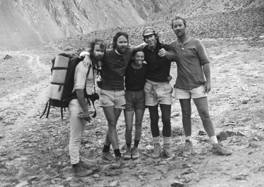 Our Aconcagua team