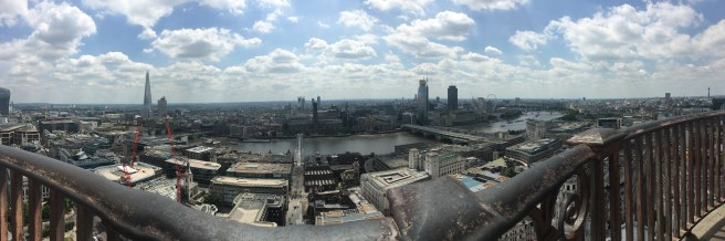 St. Paul's view definitely revivals the London Eye view