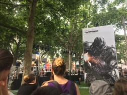 After gelato we stumbled upon the Transformers premiere #JustLondonThings