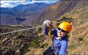 Zip Line in the Sacred Valley