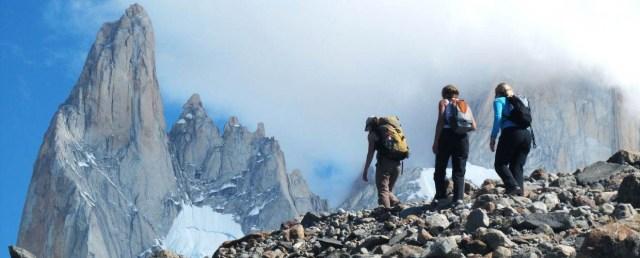 Trekking in Los Glaciares National Park, Argentina