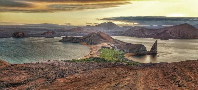 View of Bartholomew Island