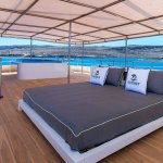Sundeck with Hot Tub and Lounge Beds