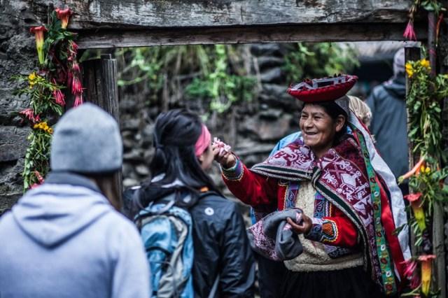 Family Peru Lares