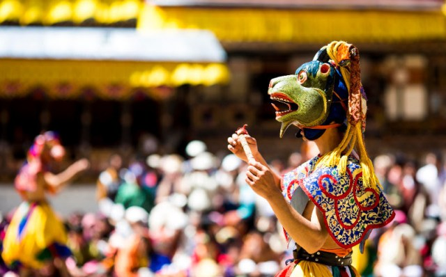Bhutan Festivals Tshechu