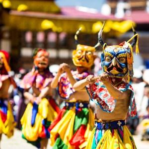 Visit Bhutan for a cultural festival