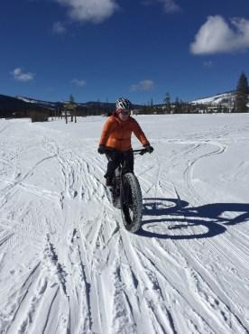 Getting rad on a fat bike