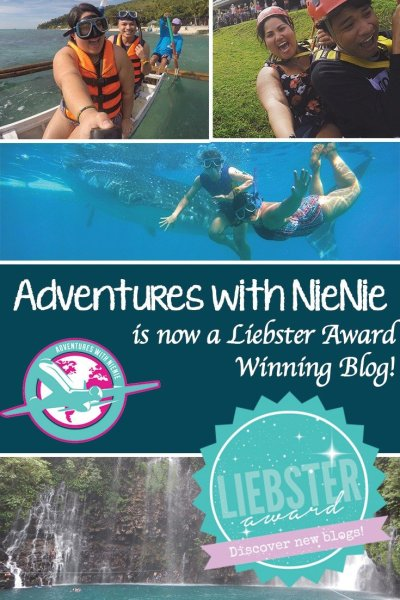 Adventures with NieNie is now a Liebster Award Winning Blog!