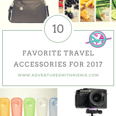 Favorite Travel Accessories for 2017