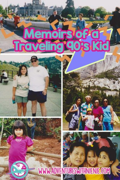 Memoirs of a Traveling 90's Kid