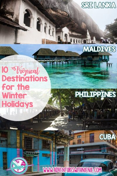 10 Tropical Destinations for the Winter Holidays
