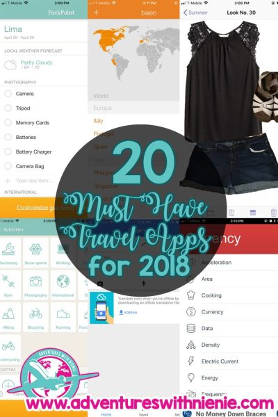 20 Must Have Travel Apps for 2018