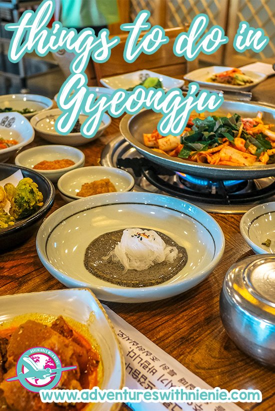 Things to do in Gyeongju Pinterest Cover