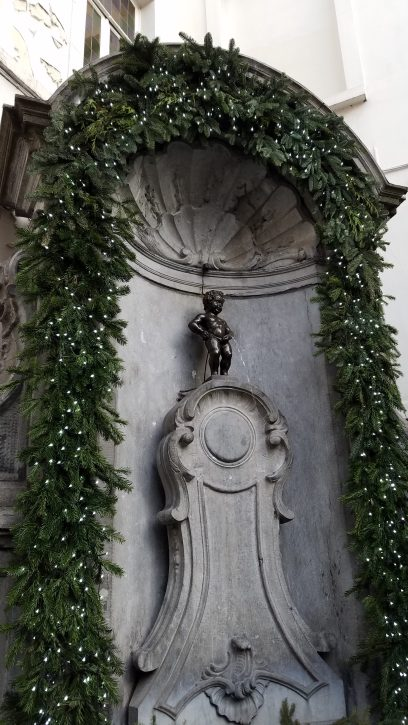 Mannequin Pis, Brussels, Belgium | Adventures with Shelby