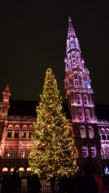 Brussels at Christmas time | Adventures with Shelby