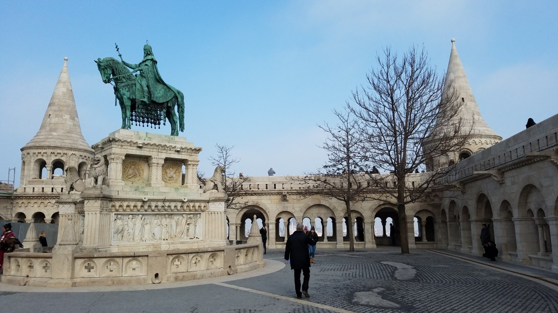 Budapest Fishermans Bastion   Adventures with Shelby