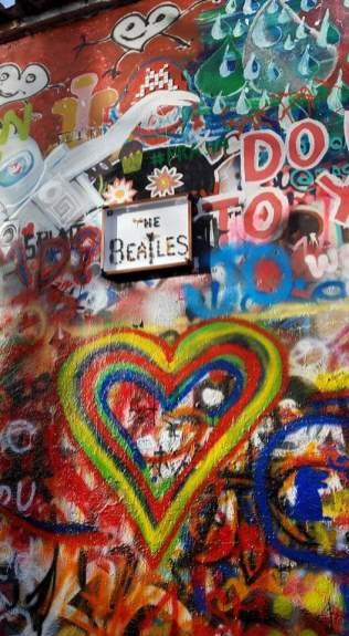 John Lennon Wall | Adventures with Shelby
