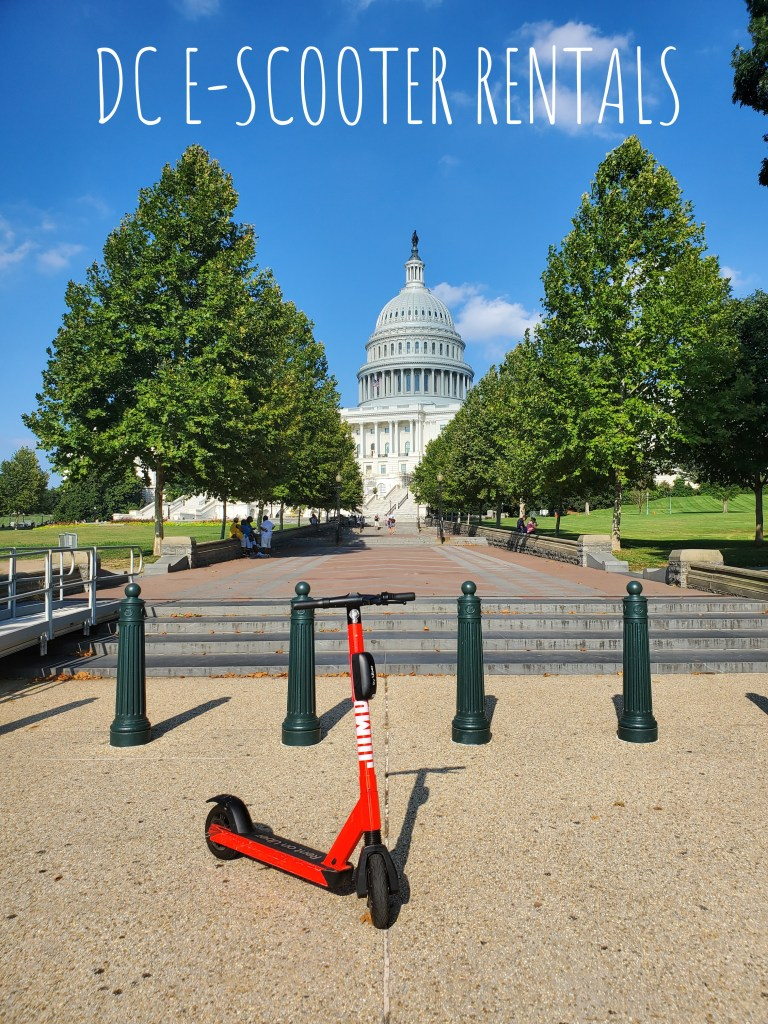 DC E-Scooter Rentals | Adventures with Shelby