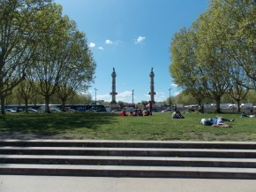 Esplanade des Quinconces, Bordeaux | Adventures with Shelby