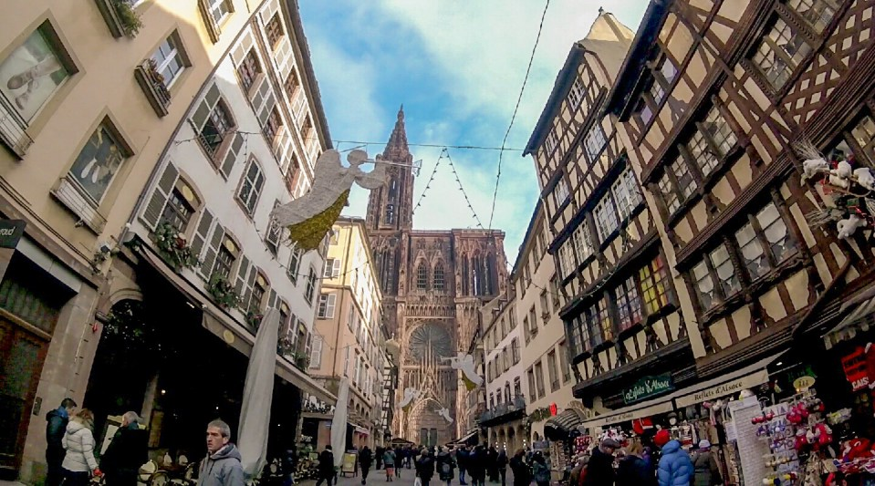 Strasbourg Christmas Market | Adventures with Shelby