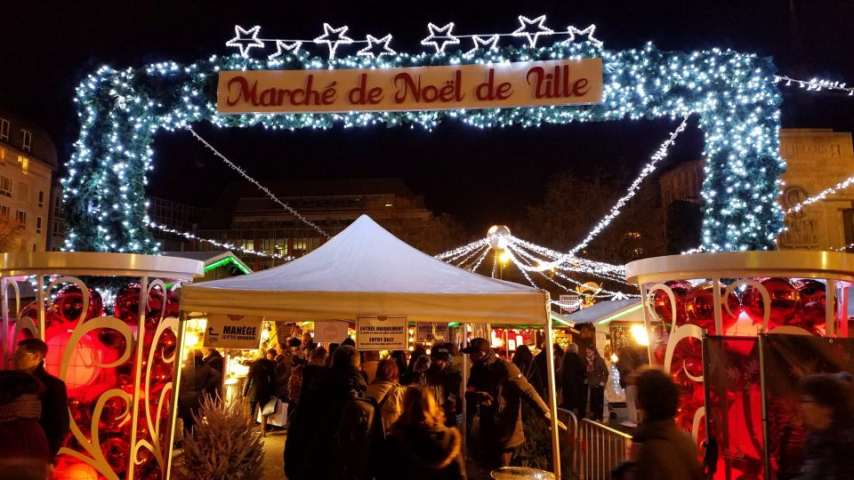 Place Rihour Christmas Market | Adventures with Shelby