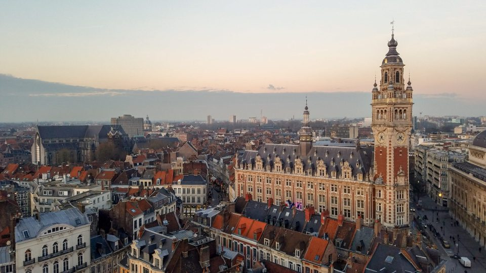 View from the Ferris Wheel in Grand Place, Lille | Adventures with Shelby