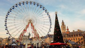 Grand Place in Lille at Christmas | Adventures with Shelby