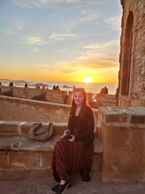 Sunset at Skala de la Kasbah | Adventures with Shelby