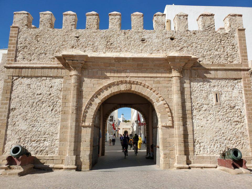 Essaouira Medina Walls | Adventures with Shelby
