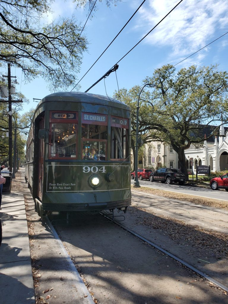 New Orleans Streetcar | Adventures with Shelby