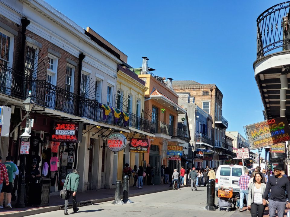 Bourbon Street, New Orleans | Adventures with Shelby