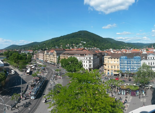 Bismarckplatz Park in Heidelberg | Adventures with Shelby