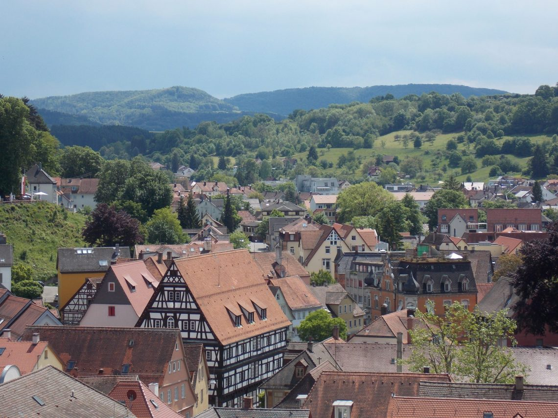 View from Johanneskirche in Schwaebisch Gmuend, Germany   Adventures with Shelby