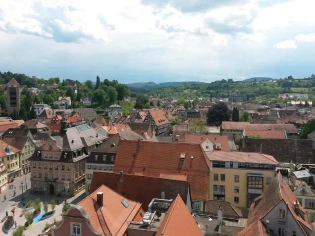 View from Johanneskirche Tower | Adventures with Shelby