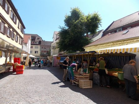 Market in Schwaebisch Gmuend | Adventures with Shelby