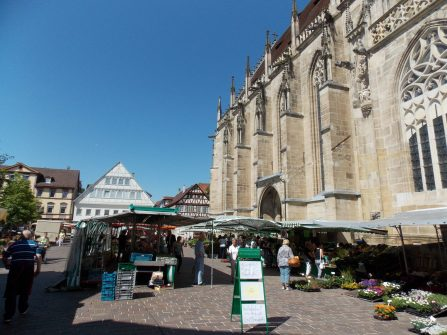 Market in Schwaebisch Gmuend | Adventures with Shelby