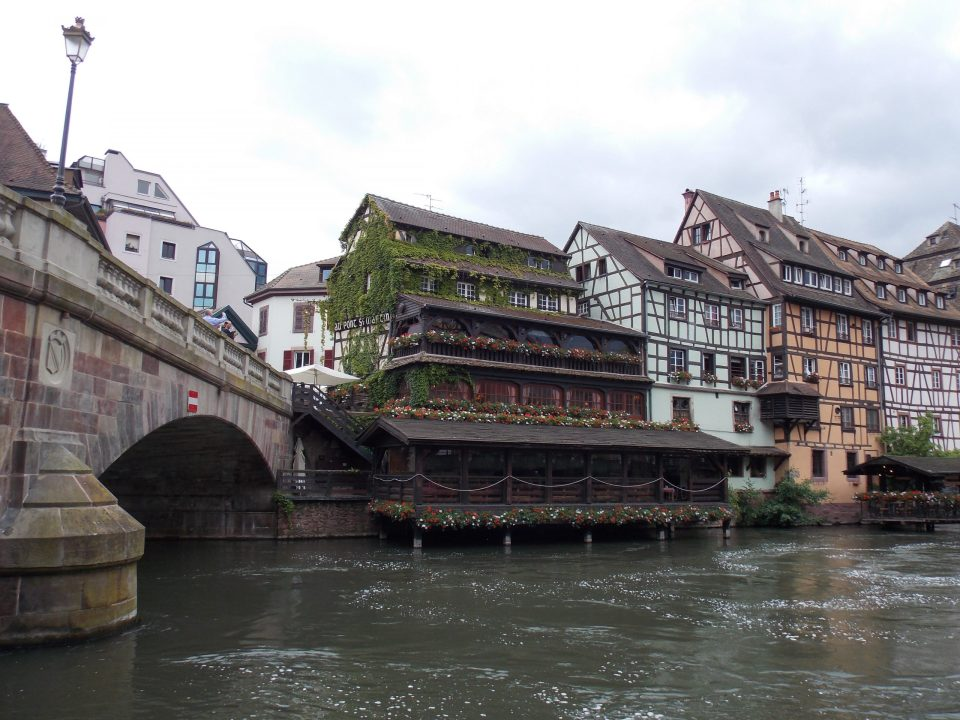 Au Pont Saint Martin, Strasbourg | Adventures with Shelby