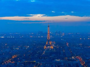 View from Montparnasse Tower in Paris | Adventures with Shelby