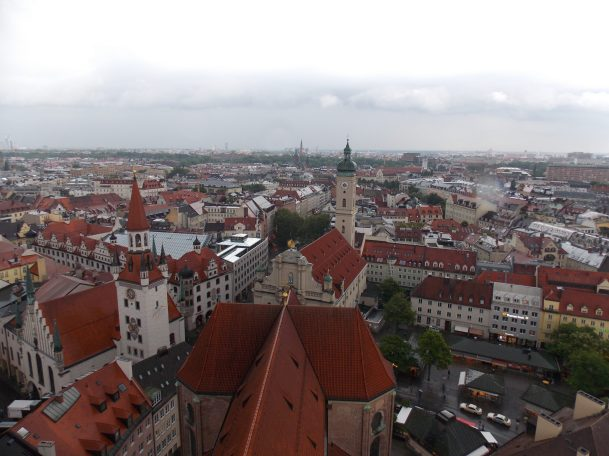View from St. Peter's Church | Adventures with Shelby